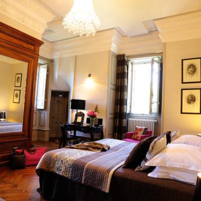 Le gîte duplex Cristal - château hôtel luxe Ardèche
