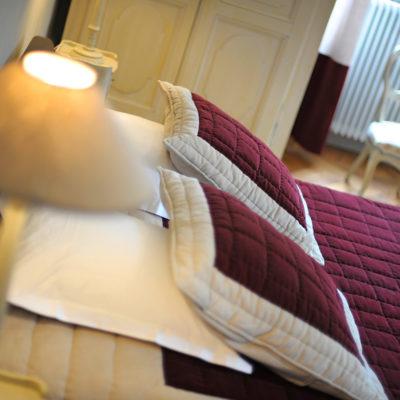 Chambre Clovis - château hôtel luxe Ardèche