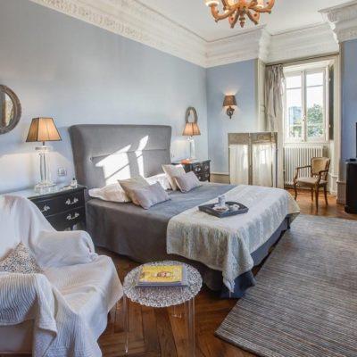 La Chambre Louise, junior suite - château hôtel luxe Ardèche