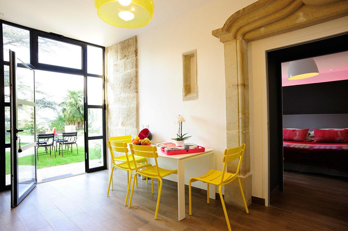 L'appartement du Château - château hôtel luxe Ardèche