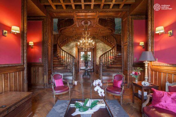 entree-chateau-hotel-aubenas-ardeche