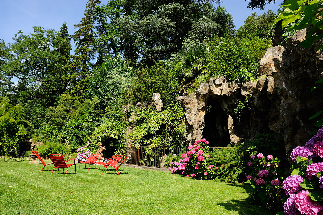 Le Parc  Ch U00e2teau Cl U00e9ment  Vals Les Bains